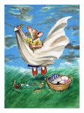 Town Mouse and Country Mouse Premium Giclee Print by  Mendoza