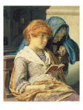 In Church, 1883 Giclee Print by Luigi da Rios