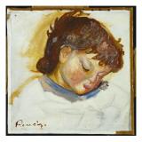 Portrait of Pierre Renoir, 1888 Giclee Print by Pierre-Auguste Renoir