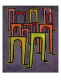 Revolution of the Viaduct, 1937 Reproduction procédé giclée par Paul Klee