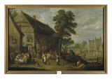 A View of Rhenen, 1636 Giclee Print by Jan Josephsz. Van Goyen