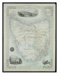 Van Diemen's Island or Tasmania Giclee Print by John Rapkin