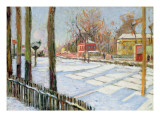 The Snow, Bois, 1886 Giclee Print by Paul Signac
