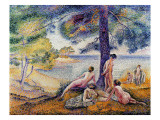 In the Shade, 1902 Giclee Print by Henri Edmond Cross