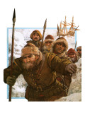 Prisoners of the Polar Ice Giclee Print by Clive Uptton
