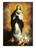 The Immaculate Conception Giclee Print by Bartolome Esteban Murillo