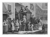Country Inn Yard, 1747 Giclee Print by William Hogarth