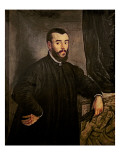 Portrait of Andreas Vesalius Premium Giclee Print by Jacopo Robusti Tintoretto