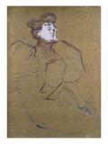 Misia Natanson, C.1897 Giclee Print by Henri de Toulouse-Lautrec