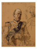 Prince Otto Von Bismarck, 1865 Giclee Print by Adolph von Menzel