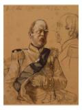 Prince Otto Von Bismarck, 1865 Giclee Print by Adolph von Menzel