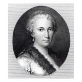 Maria Gaetana Agnesi Giclée-tryk af Italian School