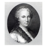 Maria Gaetana Agnesi Giclee Print by Italian School 