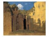 The Grotto of Posillipo, 1782 Giclee Print by Thomas Jones