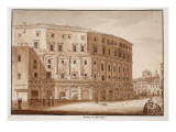 Theatre of Marcellus, 1833 Giclee Print by Agostino Tofanelli