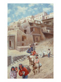 Pueblo Village, 1900 Giclee Print by John Hauser