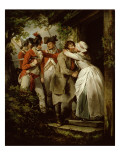 The Deserter's Farewell, 1792 Giclee Print by Morland