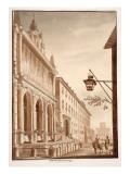 Fontana Dell'Acqua Felice, 1833 Giclee Print by Agostino Tofanelli