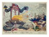 A Radical Reformer, Giclee Print by George Cruikshank