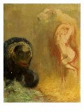 Andromeda and the Monster Giclee Print by Odilon Redon