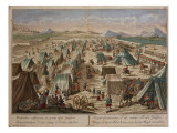 Military Camp, C.1780 Giclee Print by  Austrian School