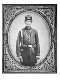 Unknown Union Soldier Giclee Print by American Photographer
