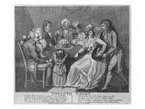Twelfth Night, 1794 Giclee Print by Isaac Cruikshank