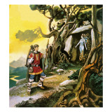 The Mountain Witch Giclee Print by Ron Embleton