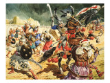 Tamerlane the Terrible Giclee Print by C.l. Doughty