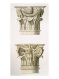 Two Column Capitals Giclee Print