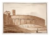 Amphiteatrum Castrense, 1833 Giclee Print by Agostino Tofanelli