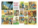 Mutiny on the Bounty Giclee Print by Ron Embleton