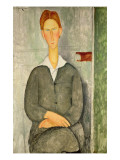 Young Boy with Red Hair, 1906 Giclee Print by Amedeo Modigliani