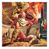 Pompeii, the Doomed City Giclee Print by  Payne