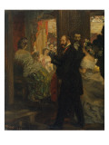 In the Opera House, 1862 Giclee Print by Adolph von Menzel