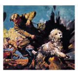 Ricky, Dog-O'-War Giclee Print by  McConnell