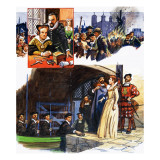 Spies in the Age of Elizabeth I Giclee Print by Eric Parker