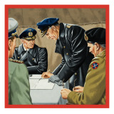 Signatures That Meant Surrender Giclee Print by John Keay