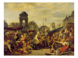 The Marche Des Innocents, C.1814 Giclee Print by Tardieu