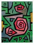 Heroic Roses, 1938 Gicl&#233;e-Druck von Paul Klee