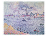 The Seine, Grenelle, 1899 Giclee Print by Paul Signac