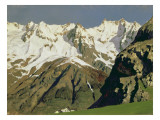 Mont Blanc Mountains, 1897 Giclee Print by Isaak Ilyich Levitan