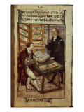 Jakob Fugger in His Office, 1518 Giclee Print by  German School