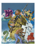 Folk Tales of the American West Giclee Print by Richard Hook