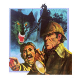 The Hound of the Baskervilles Giclee Print by  English School