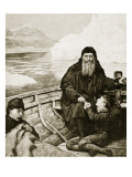 The Last Voyage of Henry Hudson Reproduction proc&#233;d&#233; gicl&#233;e par John Collier