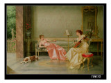 A Musical Interlude Giclee Print by Vittorio Reggianini