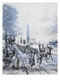 A Roman Legion Premium Giclee Print by Barrie Linklater