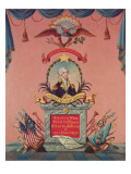 In Praise of George Washington Giclee Print by American School 