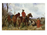 A Rest During the Hunt Giclee Print by G. Hans Buttner